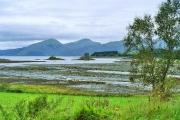 Castle Stalker viewed across Loch Laich