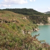 Disused china clay workings