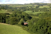 Overlooking Brithdir, near Rhydlewis, Ceredigion