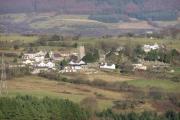 Llangynwyd Village