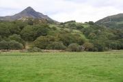 Llanfrothen: view to Cnicht