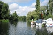 River Avon at the Bridge Inn, Offenham
