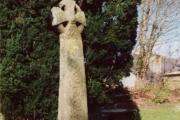 Cross in Lanivet Churchyard