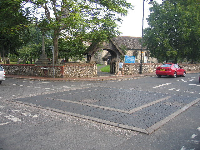 """The """"Square-about"""", Great Bookham"""