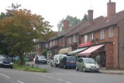 The shops on The Street, Effingham