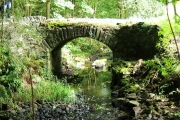An old cartpath and bridge within Ardwell Estate.