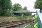 Footbridge over Caterham branch railway, Surrey