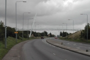 Bridge over the A38 Alfreton Road