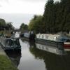 Canal and road bridge at Willington