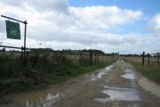 Road towards Steeds Farm