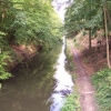 The Basingstoke Canal at Deepcut