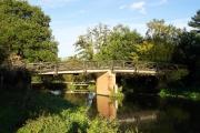 Broadoak Bridge and weir