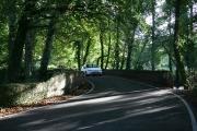 Kiln Lane crosses River Itchen near Brambridge House