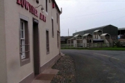 Lowther Arms and children's playground, Mawbray