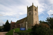 St.Andrew's church, Eakring, Notts.