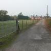 Driveway to farm at Lower Town, near Ashperton