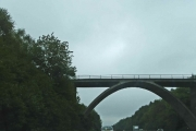 Bridge over A21 from Sevenoaks Common to Roundabout Wood