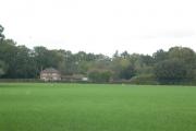 Farm overlooking fields