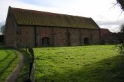 The 16th century Great Barn near Basing House