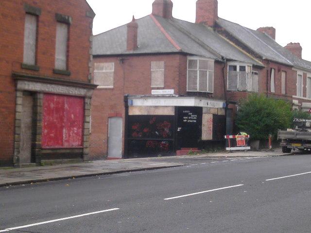 Corner Shops On Benwell Lane