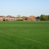 Playing fields on edge of Gosport