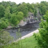 Howbury Scar on the River Tees