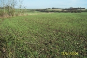 Arable farmland north of Waltham Abbey
