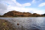 View across Nostie Bay