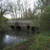 Heyford Bridge over River Cherwell looking south