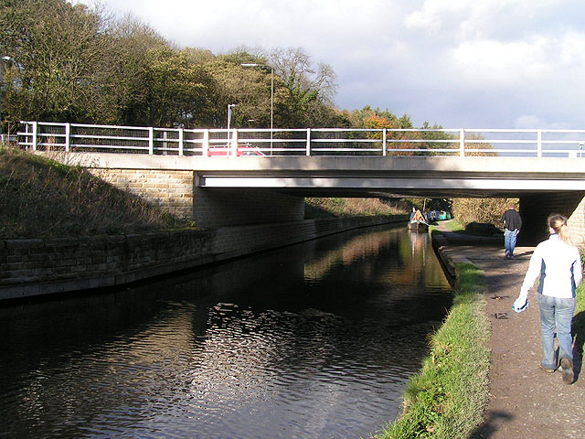 Tesco bridge, Peak Forest Canal