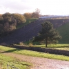 Toddbrook Reservoir: the dam