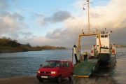 Loading the ferry at Achnacriosh, Isle of Lismore