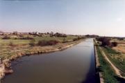 The Leeds & Liverpool Canal from Bamfurlong Bridge, looking South