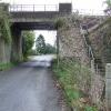 Railway bridge in Nash Lee Road
