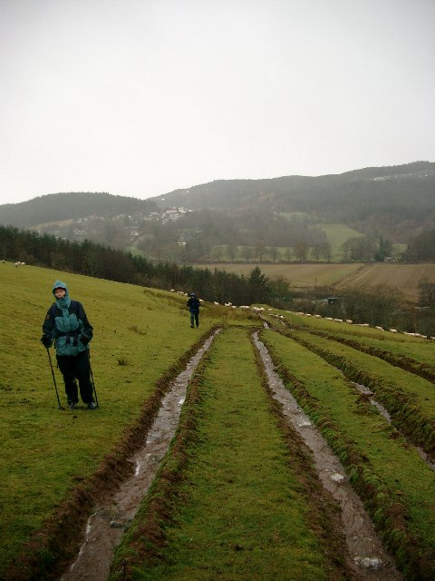 The path from Strathpeffer to Knock Farril