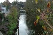Lemsford mill and the River Lea.