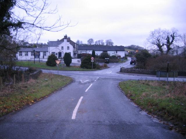 Road Junction at Bothel.