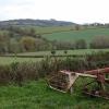 Haymaking implement near Crockett's Farm