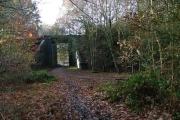Bridge Under Disused Railway Clipstone Colliery