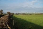 Looking north towards Underbank Farm