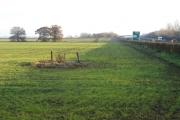 A14 road and farmland, Oakington, Cambs