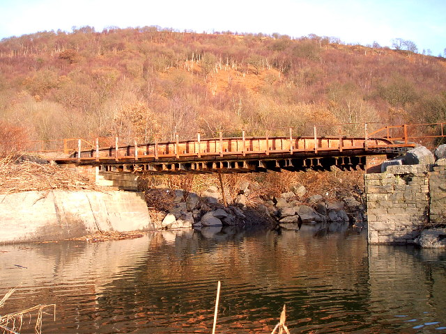 Disused mineral line bridge Abercwmboi