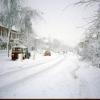 Snow on Lillington Road
