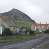 Trefor village with north summit of Yr Eifl behind