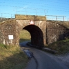 A railway bridge near Tebay Services M6.