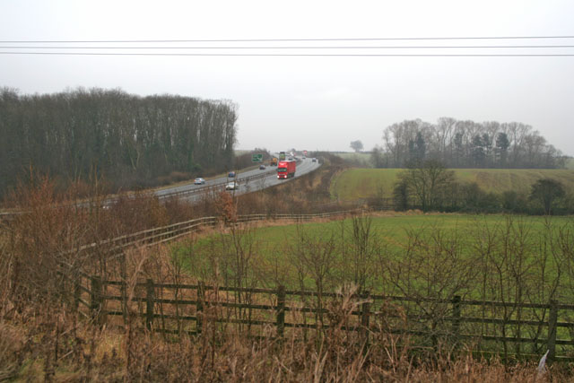 Western By-pass from Leicester Road, Thurcaston