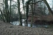 Meander in the Afon Lwyd south-west of Croesyceiliog  School