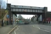 Collingwood Road Railway Bridge, Sutton
