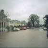 Leam Terrace in floods