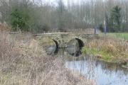 Bridge over stream near Fringford